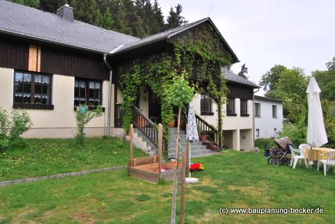 Neubau Waldbadgaststätte